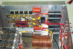Class E Transmitters Getting High Power And Harmonic